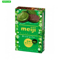 MEIJI Rich Matcha Biscuits 6 Pcs
