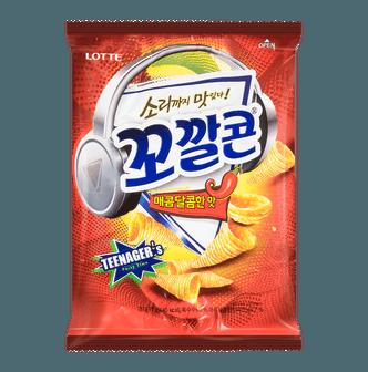 韩国LOTTE乐天 妙脆角 甜辣味 小包装 77g