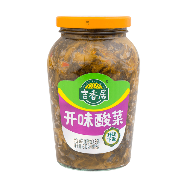 商品详情 - 吉香局 开味酸菜 426克 - image  0
