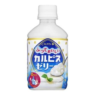 日本CALPIS 摇动震动果冻饮料 280g