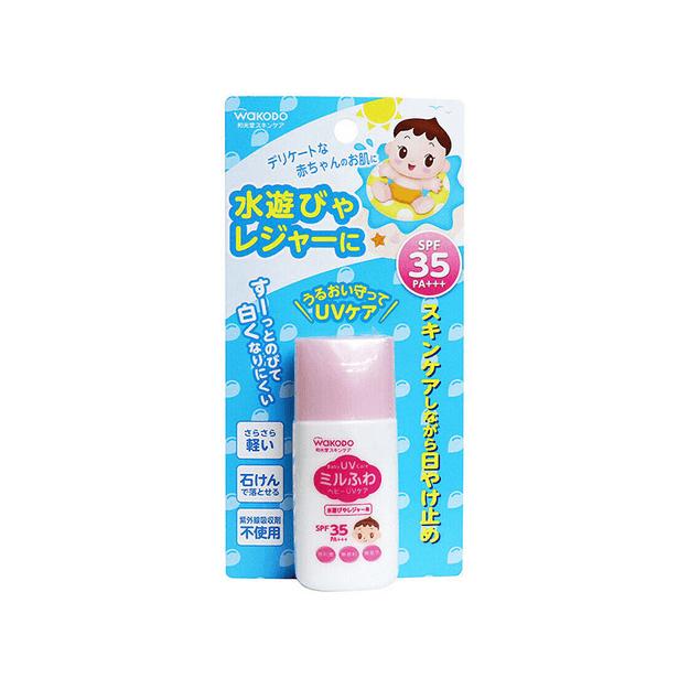商品详情 - 日本 Wakodo 和光堂 婴儿防UV防晒霜 SPF35 PA+++ 30g - image  0