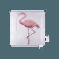 名创优品MINISO 光合作用系列翻片抱枕(火烈鸟)