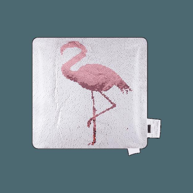 商品详情 - 名创优品MINISO 光合作用系列翻片抱枕(火烈鸟) - image  0