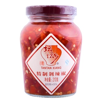TANTANXIANG Red Pickled Chili Peppers 210g