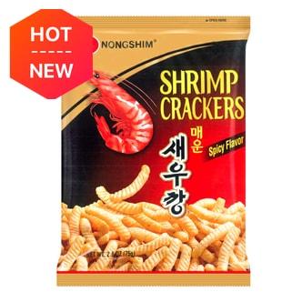 韩国NONGSHIM农心 香脆美味虾条 经典辣味 75g