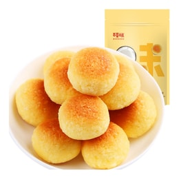 [China Direct Mail] BE&CHEERY - Coconut Silk Ball Pastry Dessert Small Package Snacks Breakfast Cakes 210g