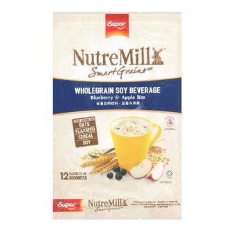 Super NutreMilk Wholegrain Soy Beverage Blueberry & Apple Bits