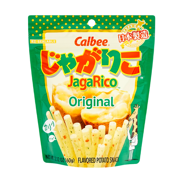 Product Detail - CALBEE JagaRico Potato Stick Original Flavor 60g - image 0