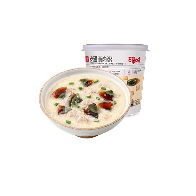 Product Detail - BE&CHEERY preserved egg congee 37g - image 0