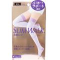 日本 SLIM WALK 美腿美脚长筒袜 M-L 1 pcs