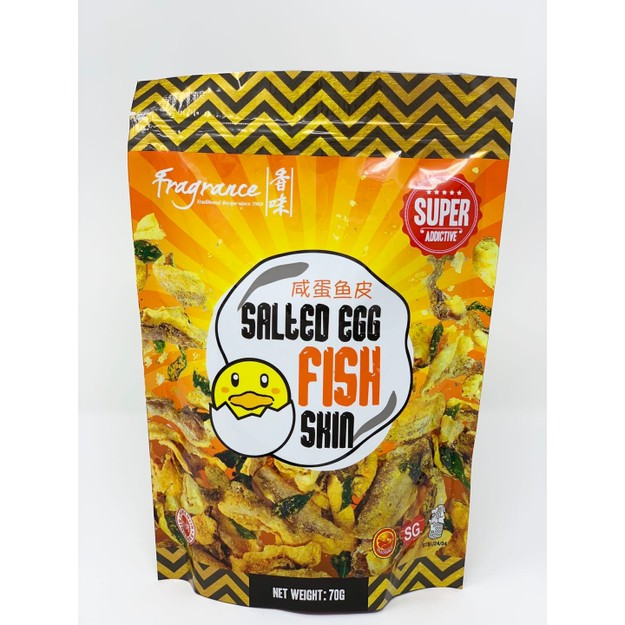Product Detail - Singapore Fragrance Salted Egg Fish Skin 70g - image 0