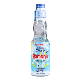 Fun Marble Drink Ramune Soft Carbonated Drink Original Flavor 200ml