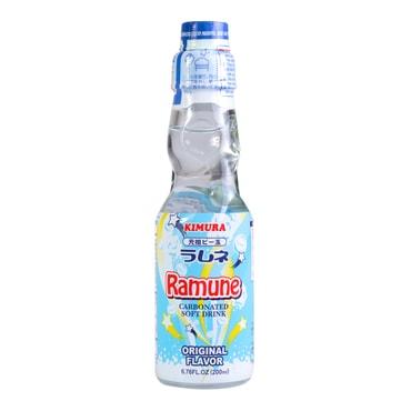 日本KIMURA元祖 弹珠汽水 原味 200ml