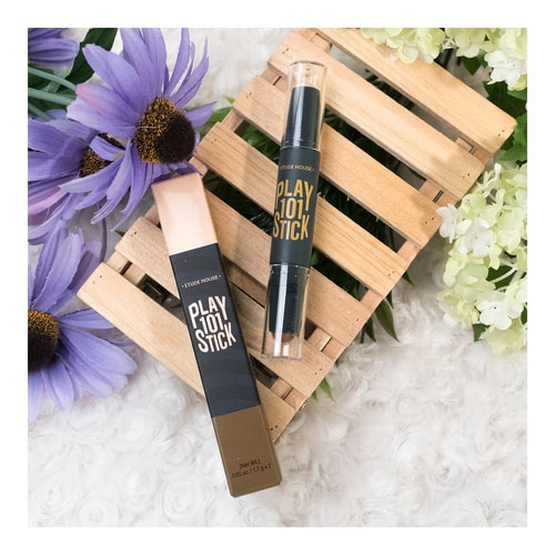 ETUDE HOUSE Play 101 Stick Contour Duo 02 Light Base +Dark Shading 1 Piece