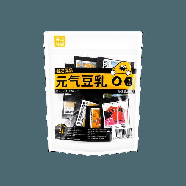 商品详情 - 谷之优品 21杯元气豆乳 赤藓糖醇健康代糖  7种口味 - image  0