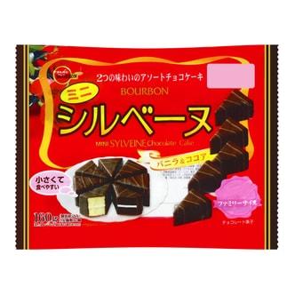 日本BOURBON波路梦 迷你SYLVEINE巧克力蛋糕 151g