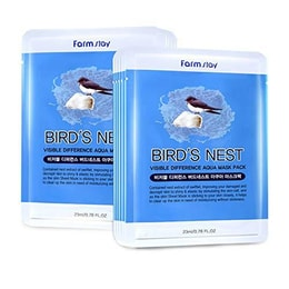 KOREA FARMSTAY Visible Difference Mask Bird's Nest  10pc