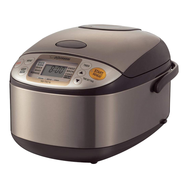 Product Detail - Micom Rice Cooker Warmer with Steaming Basket, 1L, 5.5 Cups, NS-TSC10, 120 Volts - image  0