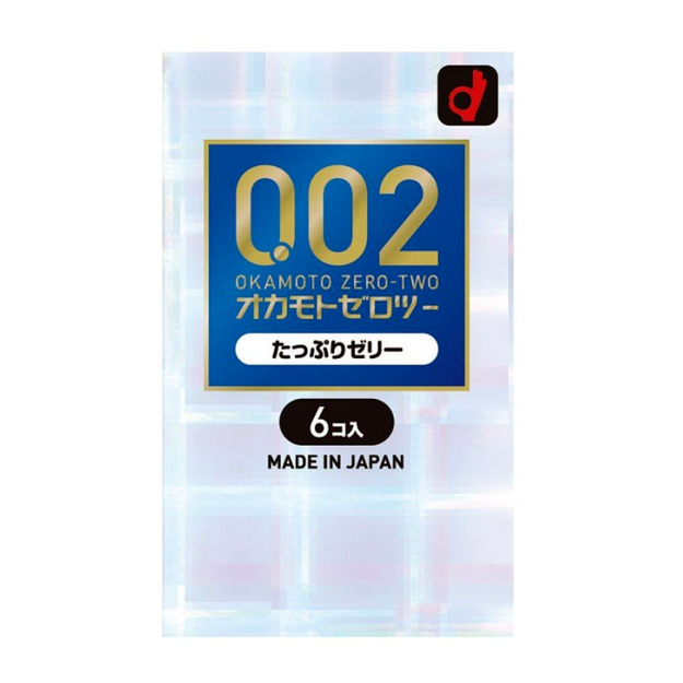 Product Detail - OKAMOTO 0.02 Condoms Jelly double 6pcs - image 0