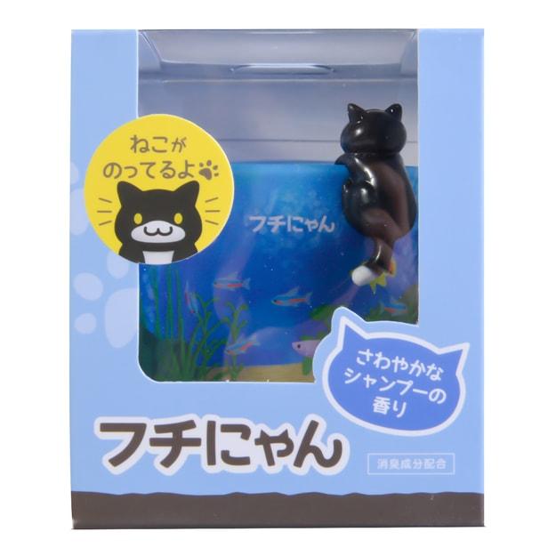 Product Detail - CARMATE Neko Atsume Air Freshener  Deodorant Gel Ocean Breeze 80g - image 0