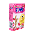 MASTER KONG Color Flute Roll Strawberry Flavor 40g