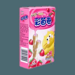 康师傅 彩笛卷 草莓味 40g