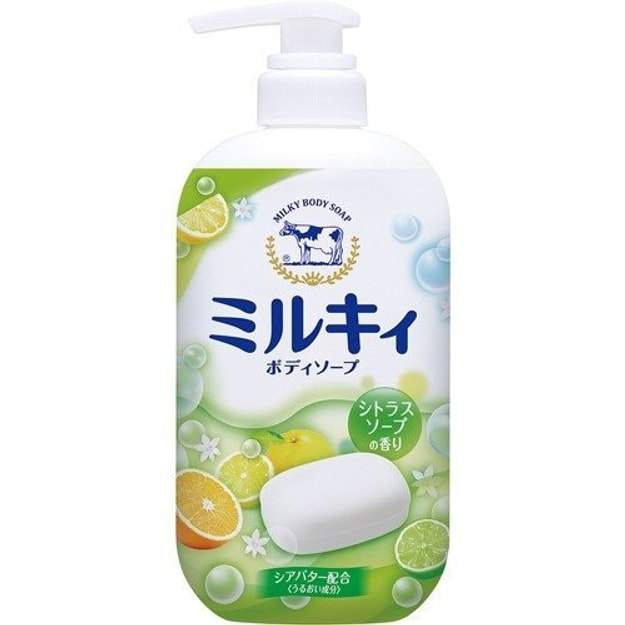 Product Detail - COW Milky Body Wash Sweet Citrus 550ml - image  0