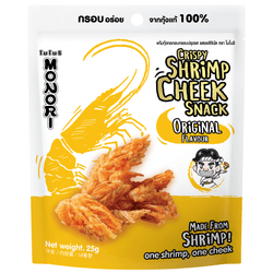 MONORI Fried Shrimp Cheek Original Flavor 25g