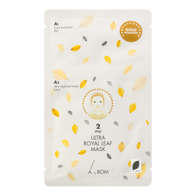 A. by Bom Super Power Baby Ultra Royal Leaf  Mask  1 sheet