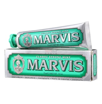 MARVIS Original Classic Strong Mint Toothpaste 75ml