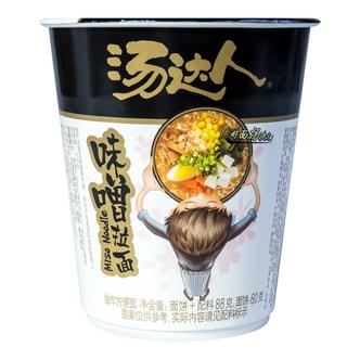 台湾统一 汤达人 味噌拉面 杯装 88g