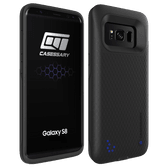 CASESSARY Galaxy S8 Battery Case w. Quick Charge 3.0 Protective Charger with Priority Charge+Dynamic Power Management