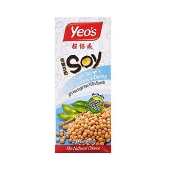新加坡YEO'S杨协成 无添加低糖豆奶 250ml