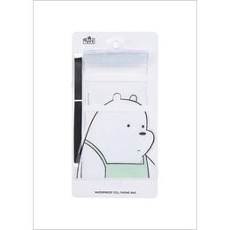 Miniso We Bare Bears- Waterproof Cellphone Pouch #Ice Bear