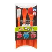 日本COMBI康贝 婴儿勺子喂食训练餐具软头勺 三件套