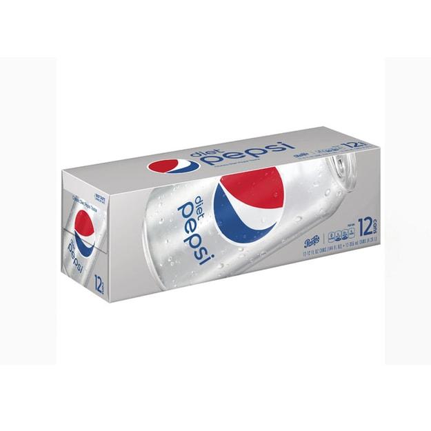 商品详情 - 百事可乐-无糖 12 Fl oz X 12罐/盒 - image  0