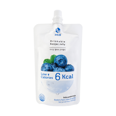 Jelly B. Konjac Drink Blueberry Flavor Low Calories Drink 150ml