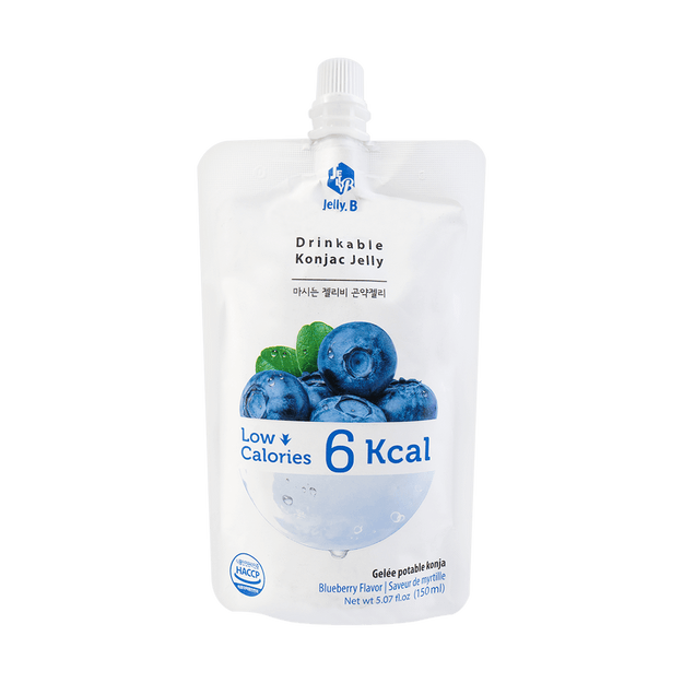 Product Detail - Jelly B. Konjac Drink Blueberry Flavor Low Calories Drink 150ml - image 0