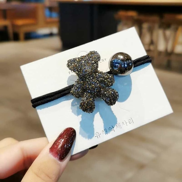 Product Detail - Cinderella selects new cute bear headrope #golden - image  0