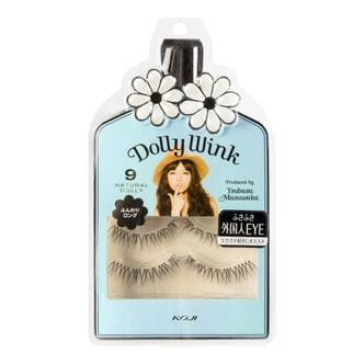 KOJI DOLLY WINK Eyelashes No.9 Natural Doll 2pairs