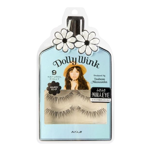 Product Detail - KOJI DOLLY WINK Eyelashes No.9 Natural Doll 2pairs - image 0