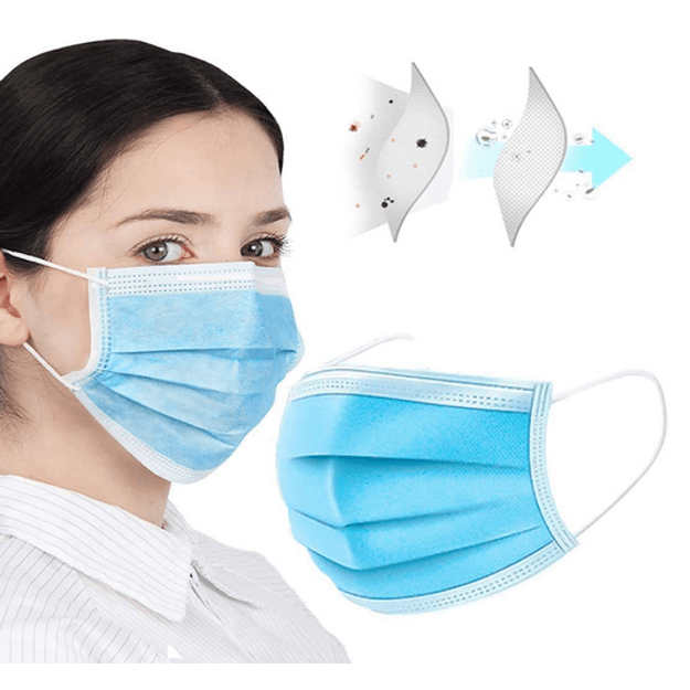 Product Detail - 【FDA&CE Approved】Byfly Disposable Face Mask 50 PCS - image 0