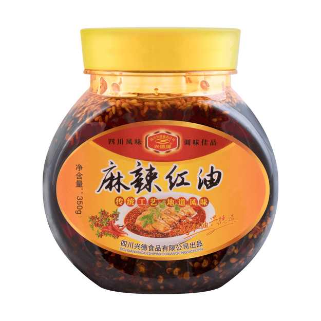 Product Detail - XINGDE Spicy Chili Oil 350g - image 0