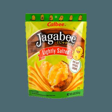日本CALBEE卡乐B JAGABEE宅卡B 薯条先生 淡盐原味 113.4g