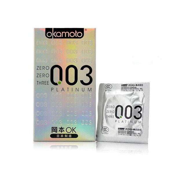 Product Detail - OKAMOTO 003 Condoms #Platinum 12pcs - image  0