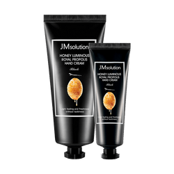 JM SOLUTION Honey Luminous Royal Propolis Hand Cream Black 50ml+100ml