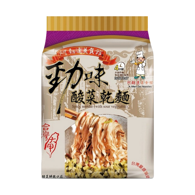 Product Detail - Dajia Stirred Noodles Pickle 4-pack 540g - image 0