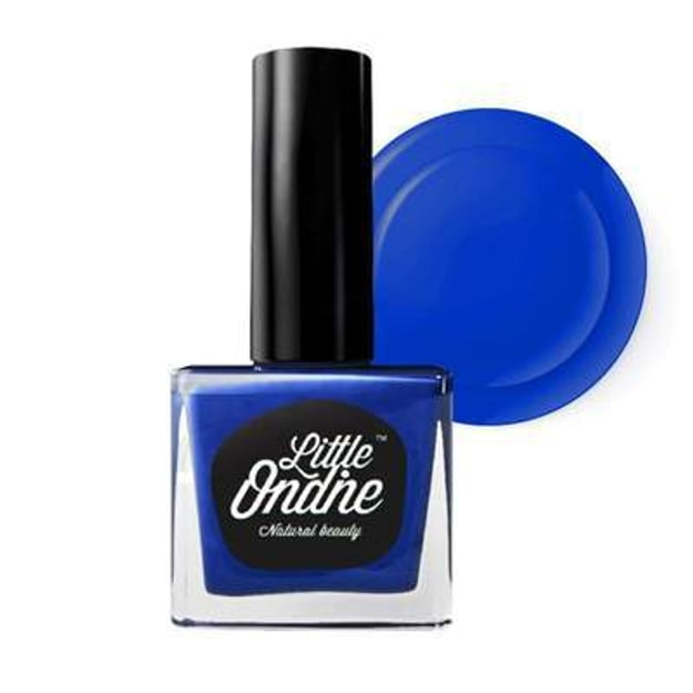 Product Detail - Little Ondine Water-based Peel off Odor Free Quick Dry Non Toxic Nail Polish-Solid Blue 0.36 Fl Oz(L075-Bohemian) - image 0