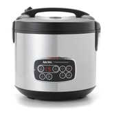 AROMA 20-Cup Digital Display Rice Cooker Slow Cooker and Food Steamer (5 Year Warranty)
