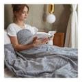 """MERRYLIFE 重力毯助眠减压毛毯 促进深度睡眠午睡毯空调毯重力被两件套  重力毯两件套 (60"""" 80"""" 20 lbs 灰色)"""